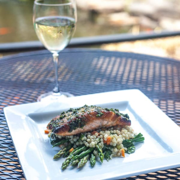 Herb Glazed Salmon