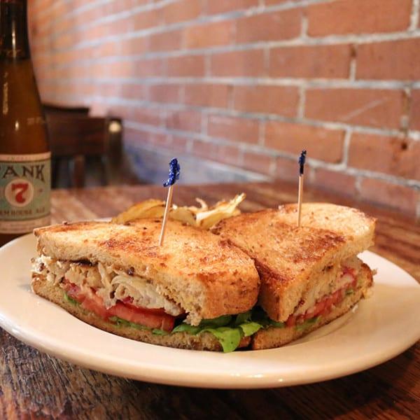 Grilled Tilapia Sandwich